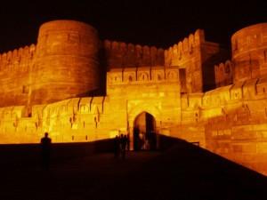 Agra Fort Night