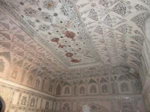 Agra Fort Sheesh Mahal Inside
