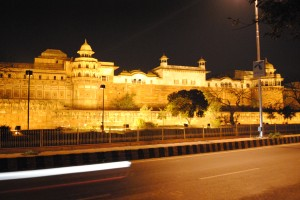 Agra Fort at Night