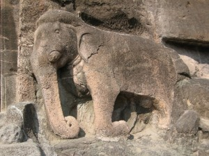 Ajanta Caves Elephant