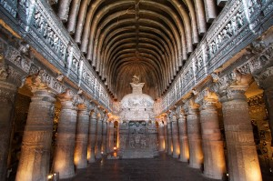 Ajanta Caves Inside