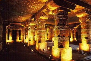 Ajanta Caves Inside Pictures