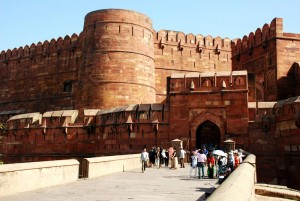 Amar Singh Entrance of the Agra Fort