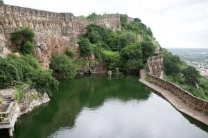 Chittorgarh Fort Gaumukh Reservoir