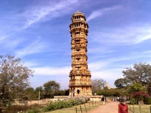 Chittorgarh Fort Vijay Stambh Pictures