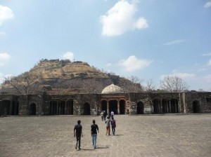 Daulatabad Fort Inside Pictures
