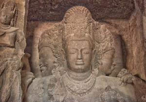 Elephanta Caves Trimurti Images