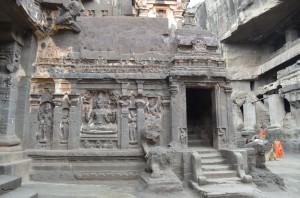 Ellora Caves Inside