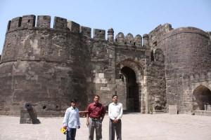 Entrance of Daulatabad Fort