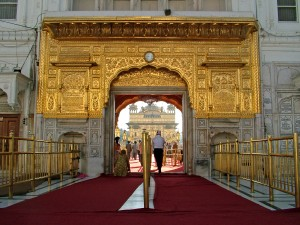 Golden Temple Entrance
