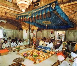 Golden Temple Inside