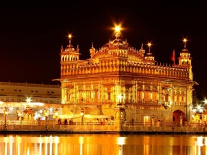 Golden Temple Night View