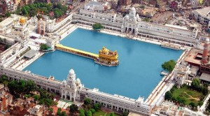 Golden Temple Top View