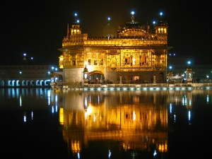 Golden Temple at Night View
