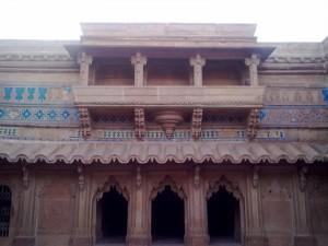 Gwalior Fort Inside