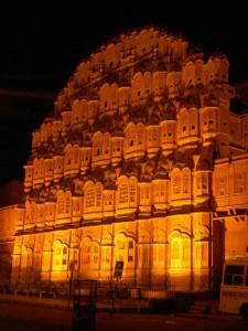 Hawa Mahal at Night