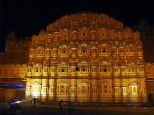 Hawa Mahal at Night Pictures