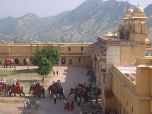 Inside of Amber Fort