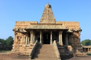 Inside of Brihadeeswarar Temple