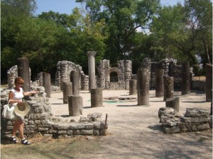 Inside of Butrint