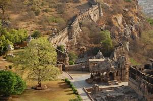 Inside of Chittorgarh Fort
