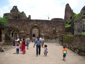 Inside of Daulatabad Fort