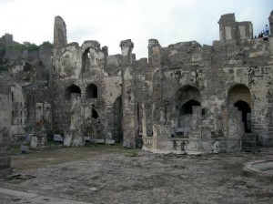 Inside of Golconda Fort
