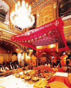 Inside of Golden Temple