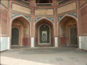 Inside of Humayun Tomb