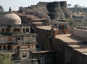 Inside of Kumbhalgarh Fort