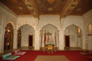 Inside of Mehrangarh Fort