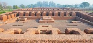 Inside of Nalanda University
