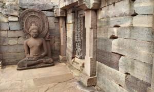 Inside of Sanchi Stupa