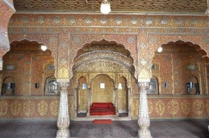 Inside the Junagarh Fort