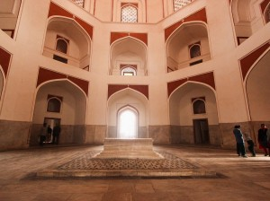 Interior of Humayun Tomb