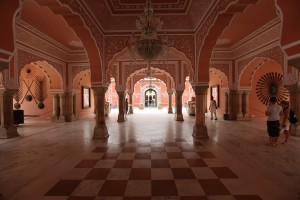 Interior of Jaipur City Palace