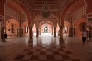 Interior of Jaipur City Palace
