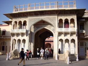 Jaipur City Palace Entrance
