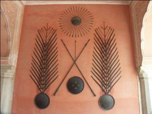 Jaipur City Palace Museum Exhibit