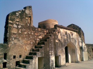 Jhansi Fort Inside