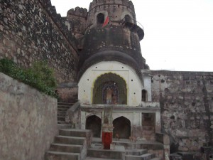 Jhansi Fort Inside View