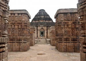 Konark Sun Temple Inside