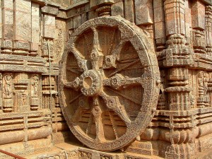 Konark Sun Temple Wheel Pictures