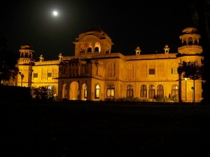 Lalgarh Palace at Night