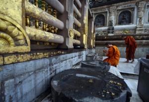 Mahabodhi Temple Inside