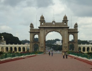 Main Gate of Mysore Palace