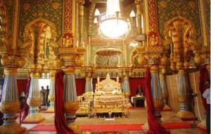 Mysore Palace Golden Throne