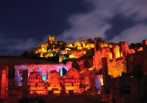 Night View of Golconda Fort