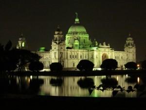 Night View of Victoria Memorial