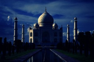 Night in Taj Mahal